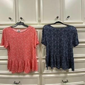 Old Navy tee u can buy them separate or together